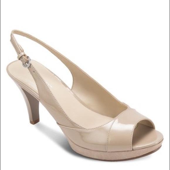 53b10a8bd41 Nine West Kalner Women's Peep-Toe Heel